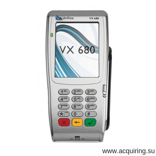 Мобильный POS-терминал Verifone VX680 (Wi-Fi, Bluetooth) под Прими Карту в Казани